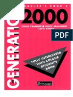 Teacher's Book, Generation 2000