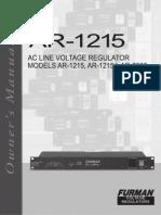 AR 1215 Manual