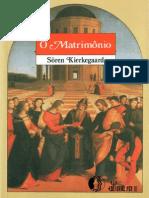 Kierkegaard, Soren - Matrimônio