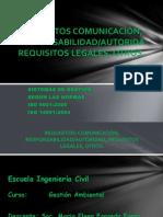 EXP-LUNES 10-12-2013-Requisitos Comunicacion Autoridad