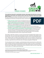 Center for Working Families Green Jobs-Green Homes Paper