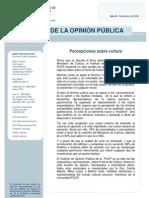 Percepciones sobre cultura en Lima - Noviembre 2009