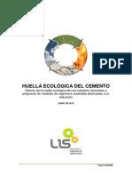 Huella CementoHUELLA ECOLÓGICA DEL CEMENTO