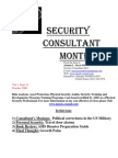Security Consultant Montly Oct 09