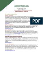 Cluster Tenant Descriptions