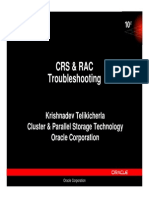 CRS RAC Troubleshooting