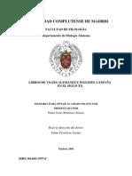 Libros de Viajes-TESIS -UCM