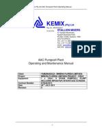 AAC Kemix Pumpcell Plant Operating Installation Manual_Yamana_Chile Minera Florida Limitada Project_Rev0