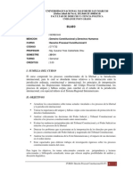 2013-I - D71732 - (07-S) D Procesal Constitucional II - Mg. Castaneda