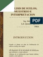 Analisis de Suelos, Muestreo e Interpretacion