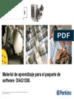 Manual de Aprendizaje Del Paquete de Software DIAG 1300 EDi PERKINS