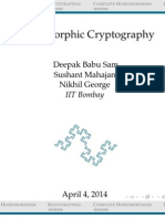 Homomorphic Cryptography