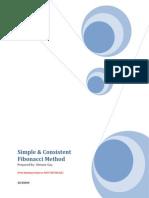 Simple and Consistent Fibonacci Method