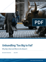 Unbundling 'Too Big to Fail'