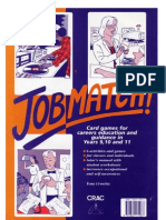 Jobmatch! Card games for careers education (Key Stage 3/4)