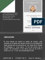 1ra Salida de Campo-Tingo Grande Geologia de Minas
