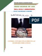 Control Contable Financiero en Las Sociedades Mercantiles