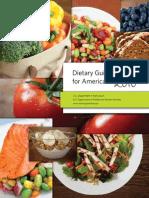 DietaryGuidelines2010 Americans