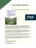 Tonico Herbario Indigena