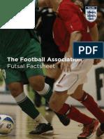 Futsal Factsheet