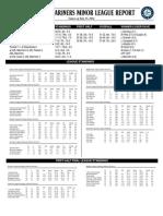 07.14.14 Mariners Minor League Report