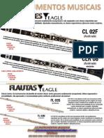 Eagle Instrumentos Musicais Livreto