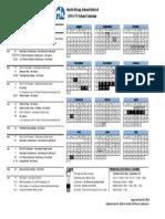 nksd calendar 2014-15