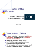 Fluid Mechanics Chapter1.1