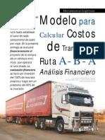 Costos transporte