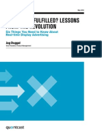 Realtime Display Advertising Lessons Learned