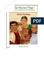 "The Henna Page ""Encyclopedia of Henna""; Hindu Wedding,  by Dipti Desai"