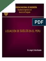 Licuacion de Suelos en El Peru