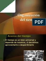 Nuevo Organizacion Del Tiempo. 1