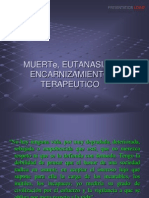 Muerte Eutanasia y Distanasia