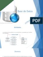 07_Base de Datos_Atributos y Dominio
