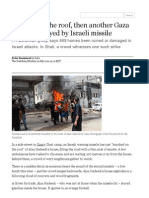 A Knock on the Roof, Then Another Gaza Home Destroyed by Israeli Missile _ World News _ the Guardian