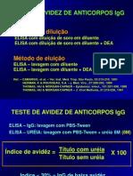 IgG de Bx Avidêz 10-2001