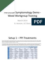 2014 Herbicide Symptomology WWG Demo 032514 for Blog