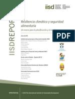 Resiliencia climática y seguridad alimentaria Un marco para la planificación y el monitoreo