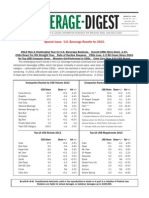 Beverage Digest 2014 March - US Beverage Results for 2013