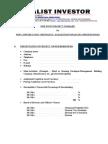 9 Point Project Summary English