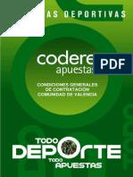 Codere Apuestas Condiciones Generales de Contratacion en Valencia