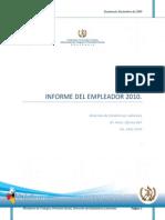 Manual Informe Anual Del Empleador 2010