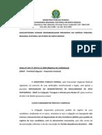 MPF impugna ata da convenção da Frentinha - PRP, PSC, PSDC, PRB e PV