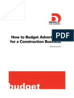 How to Budget for Your Advertising