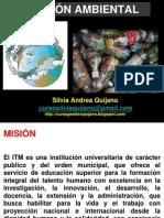 Clase i Gestión Ambiental Grupos Miercoles 2014 1