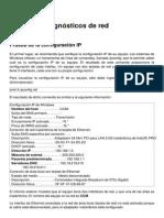 Pruebas y Diagnosticos de Red 110 k8u3go