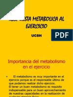 Respuesta Metabolica Al Ejercicio