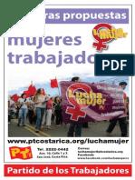 PT Costa Rica-propuestas Para Las Mujeres Trabajadoras