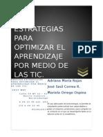 Estrategias Para Optimizar El Aprendizaje Por Medio de Las Tic (1)